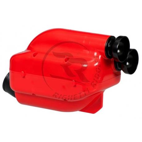 Filtro NOX 2! Rosso Silenziatore aspirazione 30mm, MONDOKART