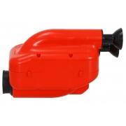 Luftfilter NOX 2! Einlass Schalldämpfer 23mm Filter Schwarz