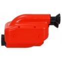 NOX 2! Inlet silencer 23mm Filter Red Black, mondokart, kart