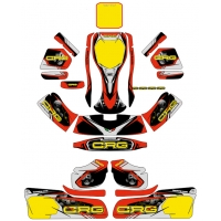 Kit adesivi CRG GOLD VICTORY completo NA3