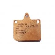 Pastilla Freno V04 V06 anterior sinteriza CRG, MONDOKART, kart