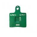 Front Brake Pad GREEN VEN05 (V05) CRG, mondokart, kart, kart