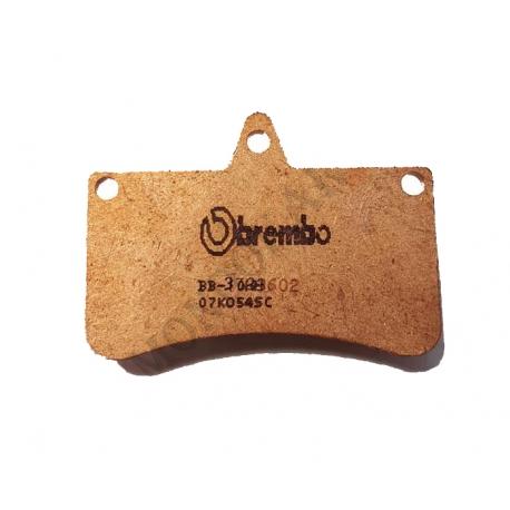 Disc brake pad V04 rear sintered CRG, mondokart, kart, kart