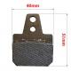 Brake pad compatible Birel 40x38, mondokart, kart, kart store