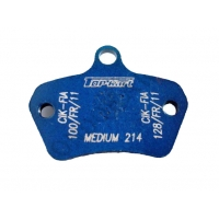 Front brake pad Top Kart KZ-KF vs.2