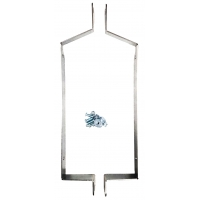 Supports for Curtain Radiator IAME X30 New-Line