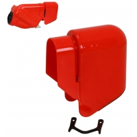 Rain Cover Active Filter RED Intake silencer