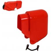 Couvercle Pluie Boite a air Active rouge, MONDOKART, kart, go