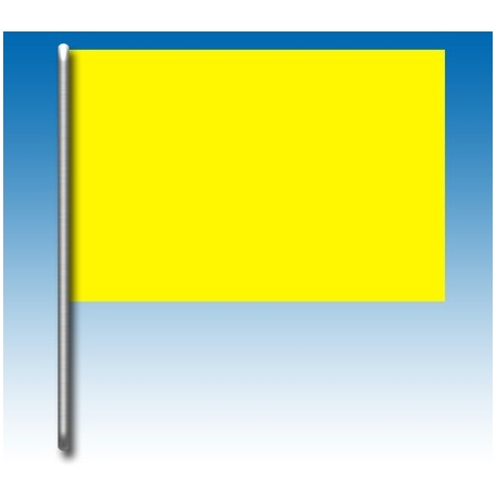 Drapeau jaune, MONDOKART, Drapeaux