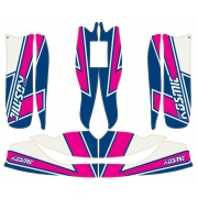 Bodyworks Stickers Kosmic OTK for M6 M7 fairings, mondokart