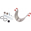 Support POWER KG Intake silencer air filter AIRBOX