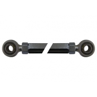 Steering Rod 225mm Black with Uniball Parolin
