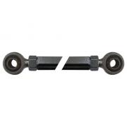 Spurstange 225mm Schwarz mit Uniball Parolin, MONDOKART, kart