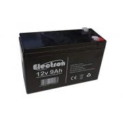 Batteria 12 volt 9 AH ELECTRON, MONDOKART, kart, go kart