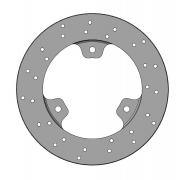 Brake Disk 150x13mm Self-Ventilated Parolin, mondokart, kart