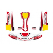Kit Adesivi Carenature MK14 MINI Parolin, MONDOKART, kart, go