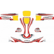Kit Adesivi Carenature AGILE Parolin, MONDOKART, kart, go kart