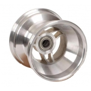 Cerchio anteriore alluminio 115mm con razze ALR, MONDOKART