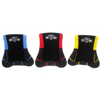 Padded seat colored Mixed Logos