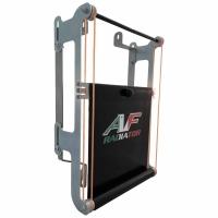 Rideau AVEC SUPPORTS pour radiateur originale IAME X30 (NUVEAU RADIATEUR)