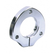Adjustable axle support anodized aluminum for 25mm bearings