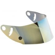 Visiera Iridium Oro (Gold) OMP GP8 EVO - GP8 EVO K, MONDOKART