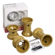 Set 4 Jantes DR 130-210mm HQ Freeline BirelArt Oro, MONDOKART