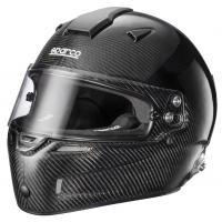 Sparco Helmet RF-7W Carbon Fiber - Auto Racing Fireproof Hans - 8859