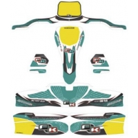 Stickers Kit for bodyworks KG 506 IPK Formula K