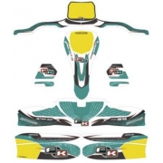 Stickers Kit for bodyworks KG 506 IPK Formula K, mondokart