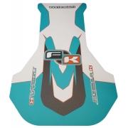 Floorpan Sticker Racing EVO OK KZ IPK Formula K, mondokart