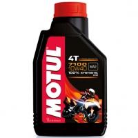 7100 10W40 Motul 4T - Synthetic Aceite Motor 4T