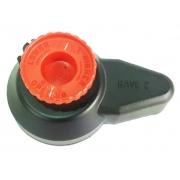 Coperchio valvola scarico Rotax RAVE2 con pomello, MONDOKART