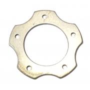 Anlaufscheibe Pleuel 18x1 star shape with holes, MONDOKART