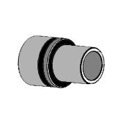 Buchse Flange Vergaserflansch (PHBN 14mm) Comer C50, MONDOKART
