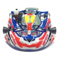 Kit adesivi Topkart Kid Kart Rosso/Blu Comer 50cc