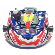 Designkit Topkart Kid Kart Rot/Blau Comer 50cc, MONDOKART