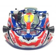 Kit Adhesivos Kid Kart Rojo/Azul Comer 50cc, MONDOKART, kart