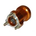 Aluminium Rear Hub Orange 40 X 105 Topkart, mondokart, kart