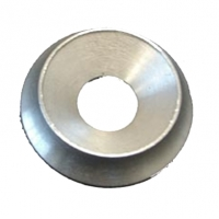 Rondella ARGENTO svasata M10 alluminio (35 x 10 mm)