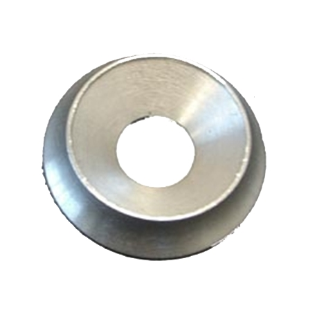 Rondella ARGENTO svasata M10 alluminio (35 x 10 mm), MONDOKART