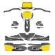 Kit Decò pour carrosserie KG 506 IPK FORMULA K BLACK EDITION