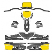 Stickers Kit for bodyworks KG 506 IPK FORMULA K BLACK EDITION