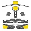 Stickers Kit for bodyworks KG 506 IPK FORMULA K BLACK EDITION