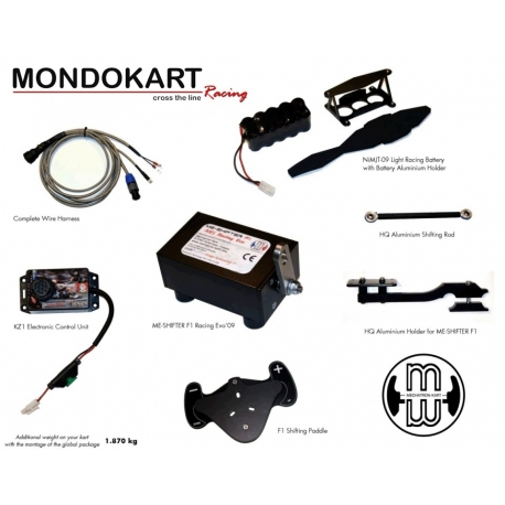 ME-Shifter F1 - Cambio Automatico KZ, MONDOKART, kart, go kart