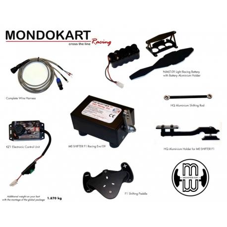 ME-Shifter F1 - Changement au volant KZ, MONDOKART, kart, go