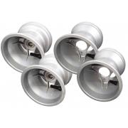 Aluminium Rims Wheels Set Mini / Baby 112-140 mm Topkart RACE!!