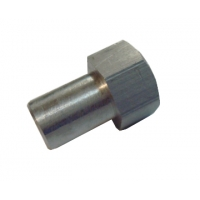 Nut clutch spring holder for tambourine (old type)