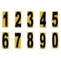 Numèro Autocollant OTK, MONDOKART, kart, go kart, karting
