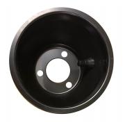 Cerchio Posteriore 146 mm Alluminio NERO, MONDOKART, kart, go